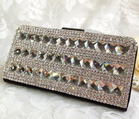 Leather Rhinestone Cover Bling Phone Case for iPhone 5/4S/4