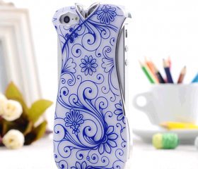 Chinese Element Cheongsam Case Night Luminous Cover for iPhone